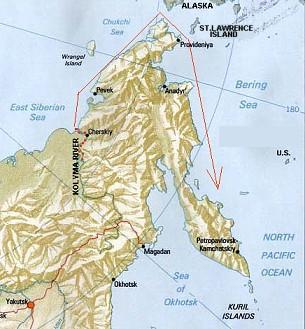 Bering o explorador infortunado Map-1648exp