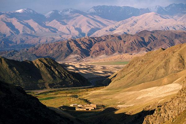 Azija Kazakhstan-landscape