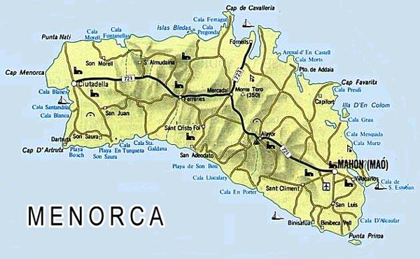Menorca Main Menu