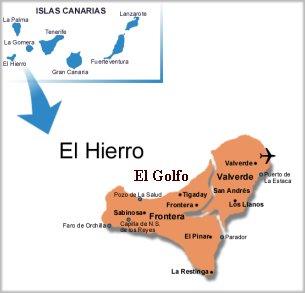 Active Volcanoes / Aktive vulkaner: Hierro, Canary Islands